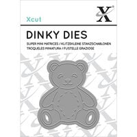 DoCrafts - Xcut - Die Set - Dinky - Teddy Bear