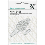 DoCrafts - Xcut - Die Set - Mini - Ice Cream Cones