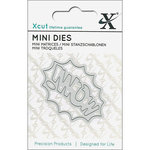 DoCrafts - Xcut - Die Set - Mini - Wow