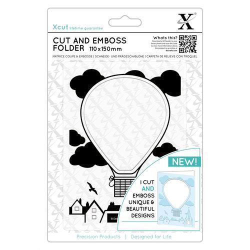 Docrafts - Xcut - Cut and Emboss Folder - Air Balloon