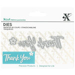 DoCrafts - Xcut - Die Set - Mini - Sentiment Thank You