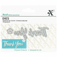 DoCrafts - Xcut - Die Set - Mini - Sentiment Thank You