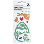 DoCrafts - Xcut - Die Set - Small - Easter Rabbit