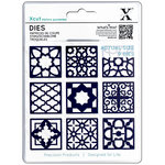 DoCrafts - Xcut - Die Set - Moroccan Tiles