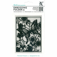 DoCrafts - Xcut - A6 Embossing Folder - Butterfly Meadow