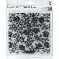DoCrafts - Xcut - Embossing Folders - Abstract Thistle