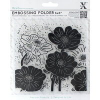 DoCrafts - Xcut - Embossing Folders - Full Helleborus