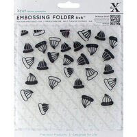 DoCrafts - Xcut - Embossing Folders - Iced Gems