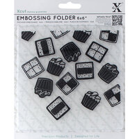 DoCrafts - Xcut - Embossing Folders - Mini Cakes