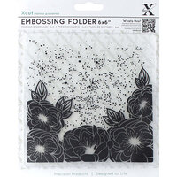 DoCrafts - Xcut - Embossing Folders - Full Bloom Rose