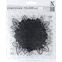 DoCrafts - Xcut - Embossing Folders - Full Hydrangea