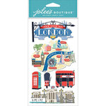 EK Success - Jolee's Boutique Le Grande - 3 Dimensional Stickers - London