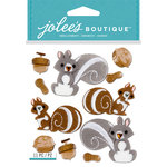 EK Success - Jolee's Boutique - 3 Dimensional Stickers - Squirrels and Nuts