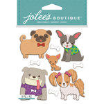 EK Success - Jolee's Boutique - 3 Dimensional Stickers - Doggies