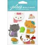 EK Success - Jolee's Boutique - 3 Dimensional Stickers - Kitties