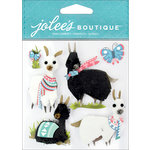 EK Success - Jolee's Boutique - 3 Dimensional Stickers - Llamas