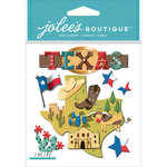 EK Success - Jolee's Boutique - 3 Dimensional Stickers - Texas