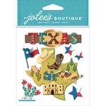 EK Success - Jolee's Boutique - 3 Dimensional Stickers - Texas