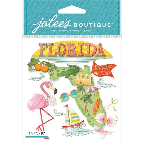 EK Success - Jolee's Boutique - 3 Dimensional Stickers - Florida