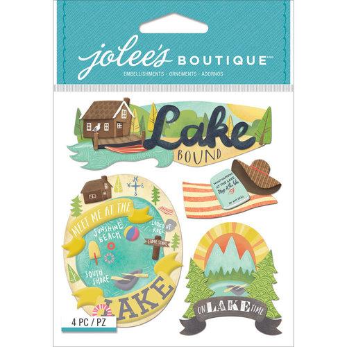 EK Success - Jolee's Boutique - 3 Dimensional Stickers - Lake