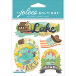 EK Success - Jolee's Boutique - 3 Dimensional Stickers - Lake