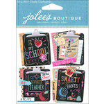 EK Success - Jolee's Boutique - 3 Dimensional Stickers - Chalk Clipboard