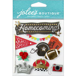 EK Success - Jolee's Boutique - 3 Dimensional Stickers - Homecoming