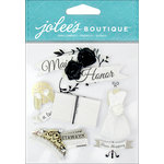 EK Success - Jolee's Boutique - 3 Dimensional Stickers - Maid Of Honor