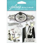 EK Success - Jolee's Boutique - 3 Dimensional Stickers - Best Man