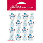 EK Success - Jolee's Boutique - Christmas - 3 Dimensional Stickers - Snowmen Repeats