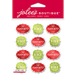 EK Success - Jolee's Boutique - Christmas - 3 Dimensional Stickers - Naughty and Nice Repeats