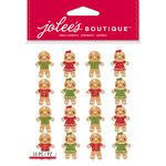 EK Success - Jolee's Boutique - Christmas - 3 Dimensional Stickers - Gingerbread Men Repeats
