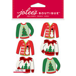 EK Success - Jolee's Boutique - Christmas - 3 Dimensional Stickers - Ugly Sweater Repeats