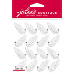 EK Success - Jolee's Boutique - Christmas - 3 Dimensional Stickers - Angel Wings Repeats