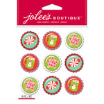 EK Success - Jolee's Boutique - Christmas - 3 Dimensional Stickers - Sweet Treat Baubles Repeats