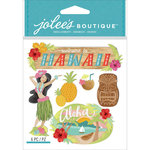 EK Success - Jolee's Boutique - 3 Dimensional Stickers - Hawaii