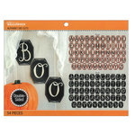 EK Success - Jolee's Boutique - Halloween - Alphabet Die Cuts