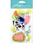 EK Success - Jolee's Boutique - 3 Dimensional Stickers - Farm Animals