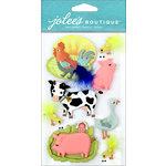 EK Success - Jolee's Boutique - 3 Dimensional Stickers - Farm Animals