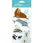 EK Success - Jolee's Boutique - 3 Dimensional Stickers - Arctic Animals