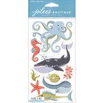 EK Success - Jolee's Boutique Le Grande - 3 Dimensional Stickers - Ocean Animals