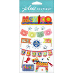 EK Success - Jolee's Boutique - 3 Dimensional Stickers - Icons Mexico Words