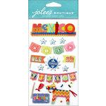 EK Success - Jolee's Boutique - 3 Dimensional Stickers - Icons Mexico Words