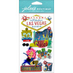 EK Success - Jolee's Boutique - 3 Dimensional Stickers - Las Vegas