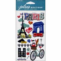 EK Success - Jolee's Boutique - 3 Dimensional Stickers - Large Paris