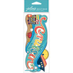 EK Success - Jolee's Boutique - 3 Dimensional Stickers - Title Wave - Cruisin