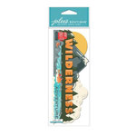EK Success - Jolee's Boutique - 3 Dimensional Stickers - Title Wave - Wilderness Adventure