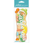 EK Success - Jolee's Boutique - 3 Dimensional Stickers - Title Wave - California