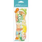 EK Success - Jolee's Boutique - 3 Dimensional Stickers - Title Wave - California
