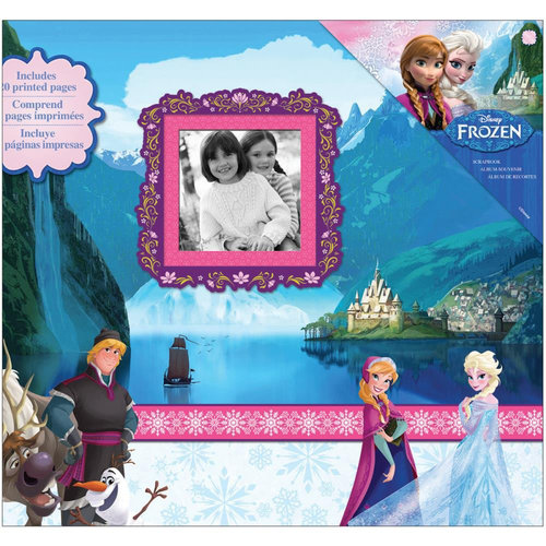 EK Success - Disney Collection - Frozen - 12 x 12 Scrapbook Album